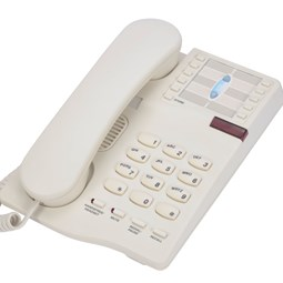 Interquartz Gemini IQ333 Handsfree Telephone - Cream