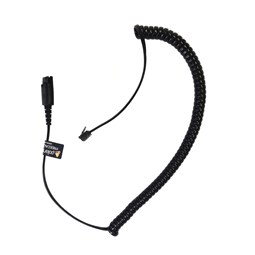 Polaris Direct Connect Curly Cord for Plantronics Corded Headsets